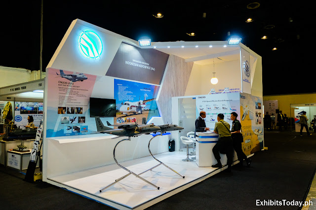 Indonesian Aerospace Exhibit Booth