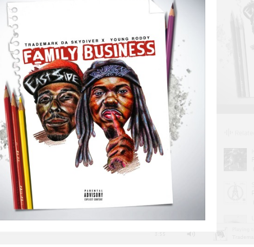 Trademark Da Skydiver x Young Roddy ft Kevin Gates