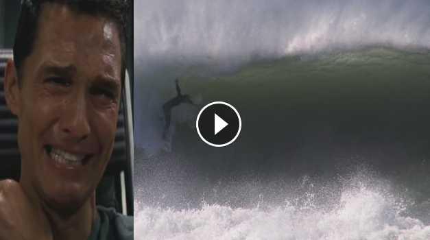 Matthew McConaughey - Reacts To El Nino Surfing Footage Instagram