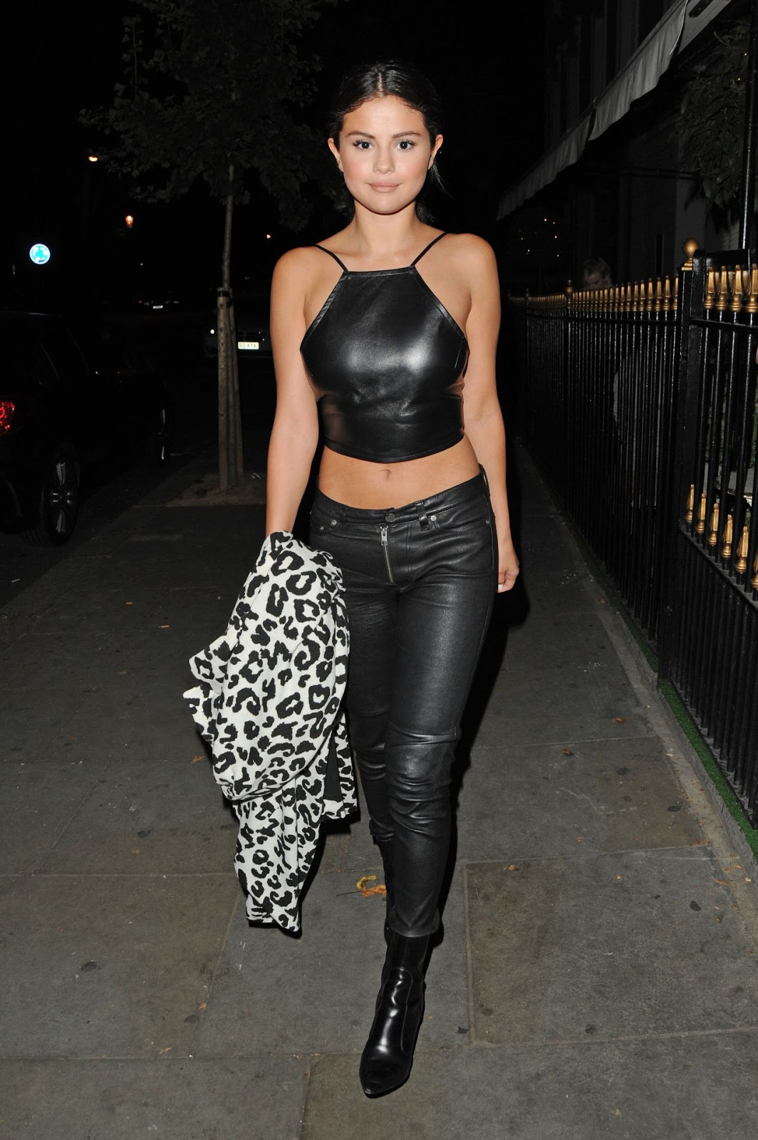 Selena Gomez Night Out Style