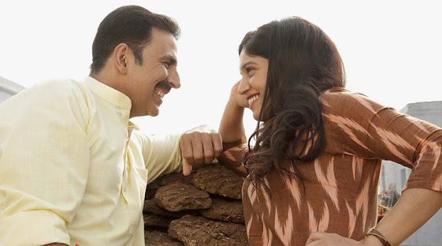 Akshay Kumar shares a breezy chemistry with Bhumi Pednekar in Toilet: Ek Prem Katha