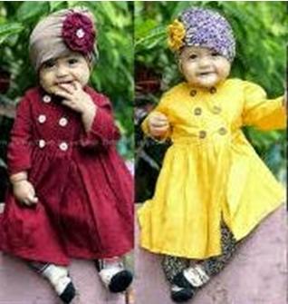 Model Baju Bayi Perempuan muslim