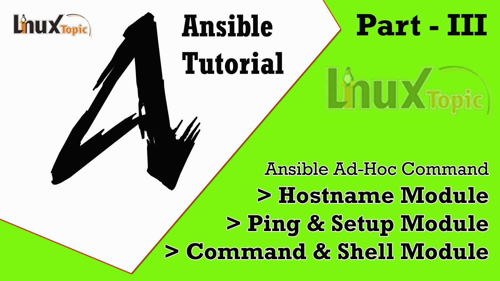 Ansible Tutorial - Ansible Modules Ping Setup Command Shell