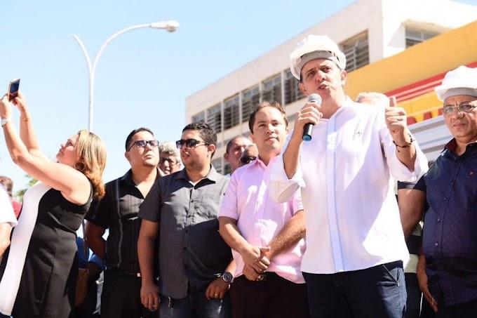 Prefeitura realiza ato solene, lembra aniversário de 194 anos da Adesão de Caxias à Independência do Brasil, lança obras e inaugura escolas