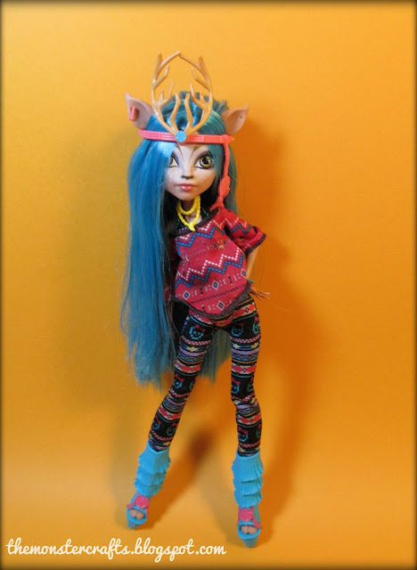 Isi Dawndancer Monster High doll photography