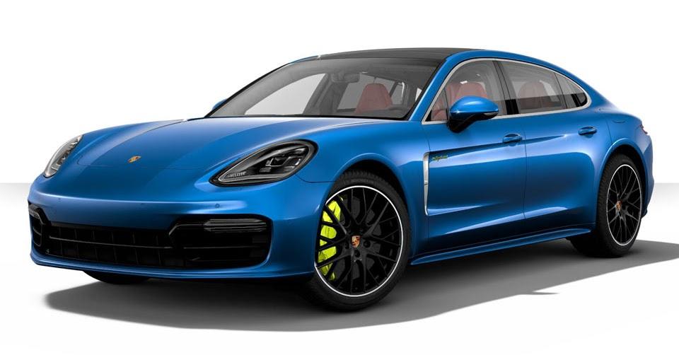 2017 Porsche Panamera Spec >> Spec Your Perfect Porsche Panamera Turbo S E-Hybrid In New Configurator