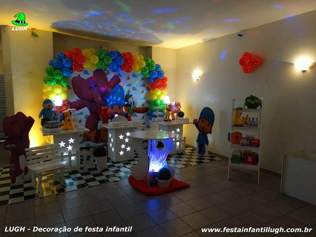Decoração infantil tema do Pocoyo - Decoração provençal