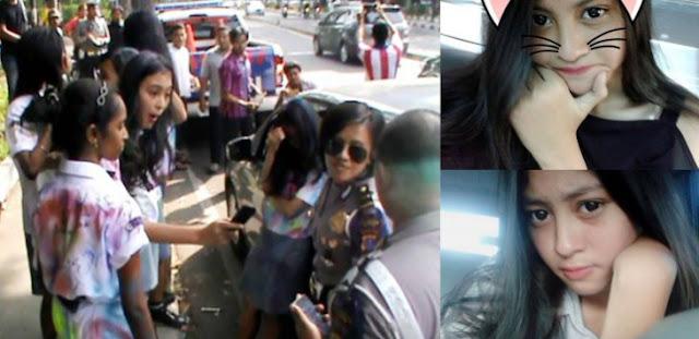 Inilah Sosok Sonya Depari, Siswi Cantik yang Ancam Polwan Mengaku Anak Arman Depari