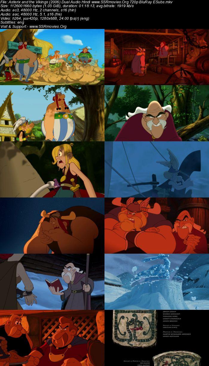 Asterix and the Vikings (2006) Dual Audio Hindi 720p BluRay