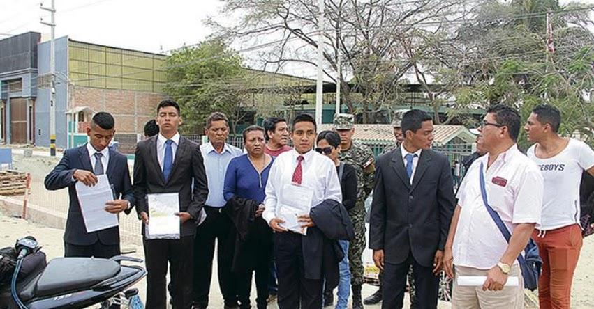 Postulantes denuncian presunto fraude en la Escuela Técnica de la Policía - ETP - PNP