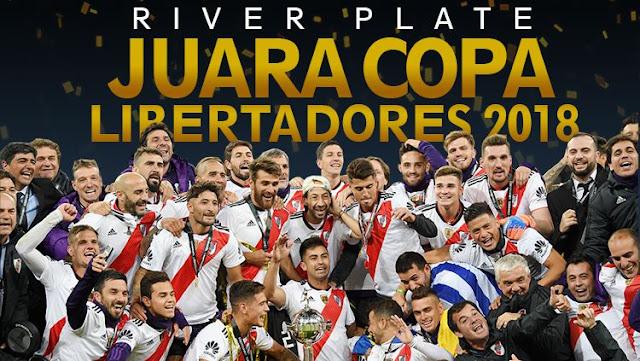 Juara Copa Libertadores, Pemain River Plate Tantang Real Madrid