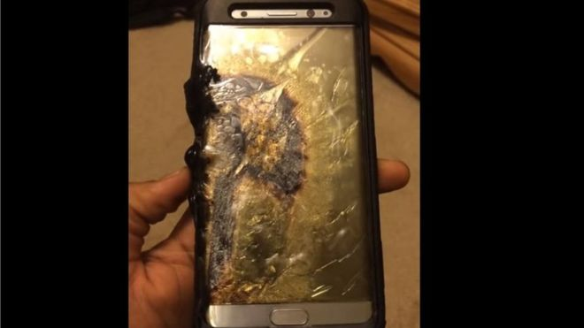 Samsung urges Galaxy Note 7 phone exchange urgently