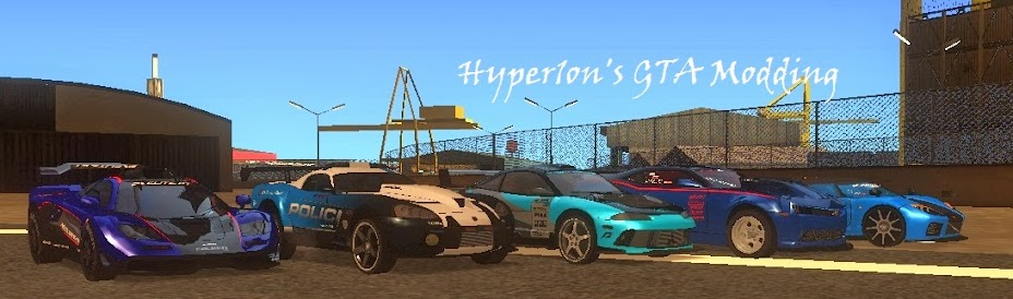 Hyper1on's GTA Modding: How to extract cars from Forza and work them