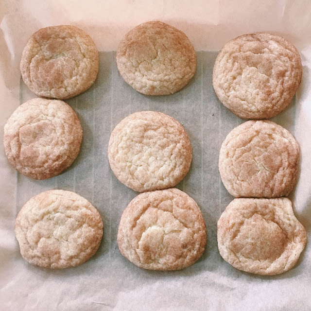 Buttery Snickerdoodle Cookies