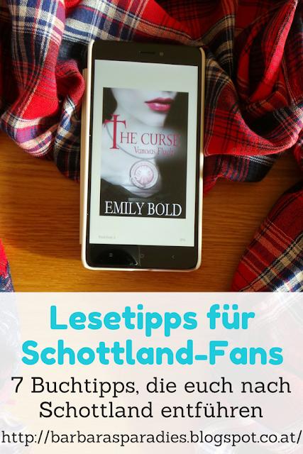 Lesetipps für Schottland-Fans - 7 Buchtipps, die euch nach Schottland entführen - The Curse - Trilogie von Emily Bold