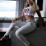 Debora Soares foto na cama no motel