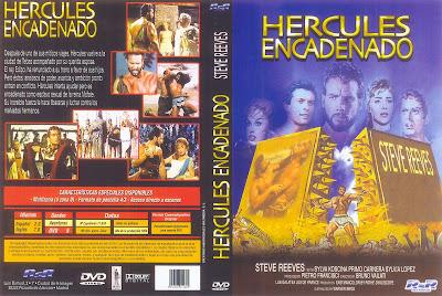 CARATULA DVD: Hércules y la reina de Lidia » Ercole e la regina di Lidia / Descargar / Película