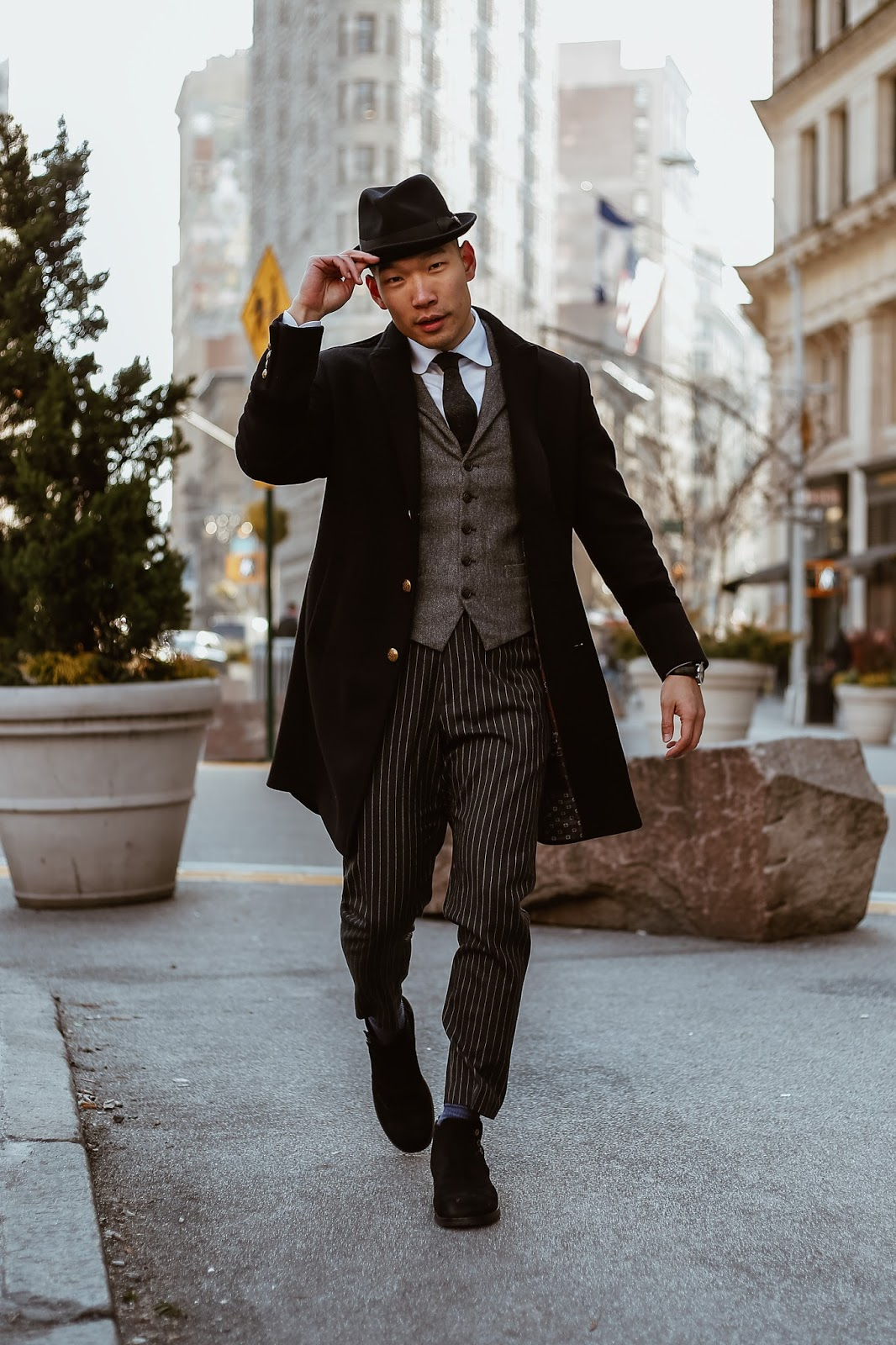 Goorin Bros Hat, Dolce & Gabbana Side Button Boots, The Alienist