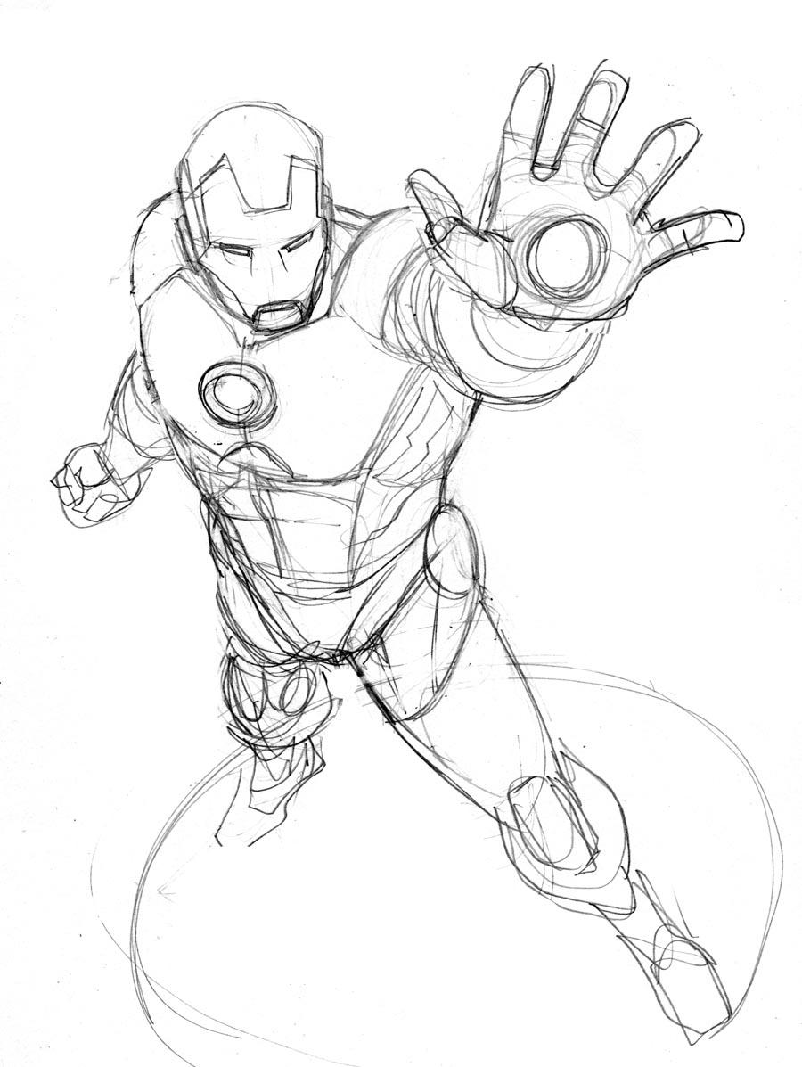 Robert Atkins Art: Iron Man...
