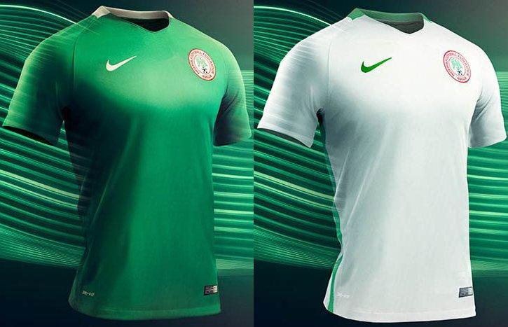 e12f3fd871 Nike divulga as novas camisas da seleção da Nigéria - Show de Camisas