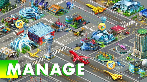 Download Game Airport City Mod APK cho Android