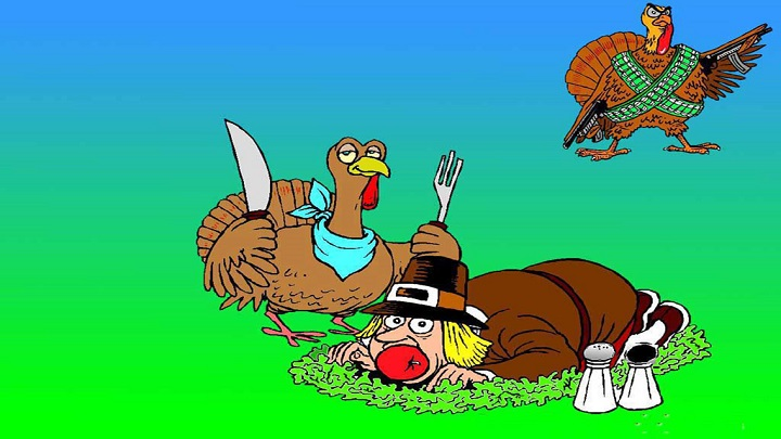 Funny Thanksgiving Day Turkey^Images Pictures Clipart Wallpapers HD Free