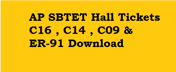 AP SBTET Hall Ticket