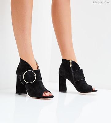 botines para dama