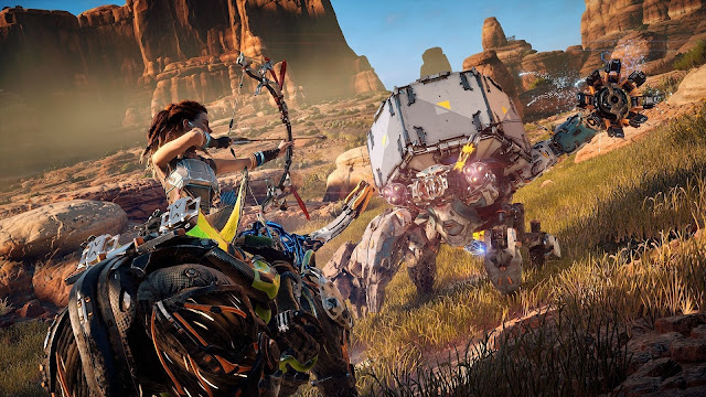 Comparativa de Horizon: Zero Dawn entre PS4 y PS4 Pro
