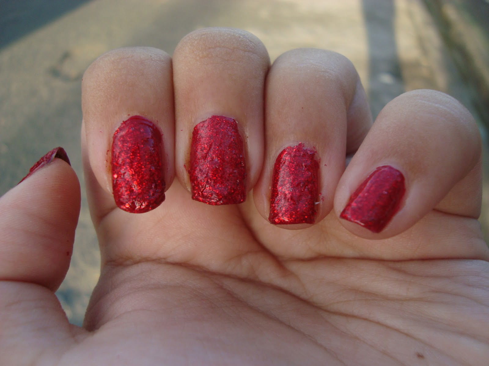Nails | Ring in the Red