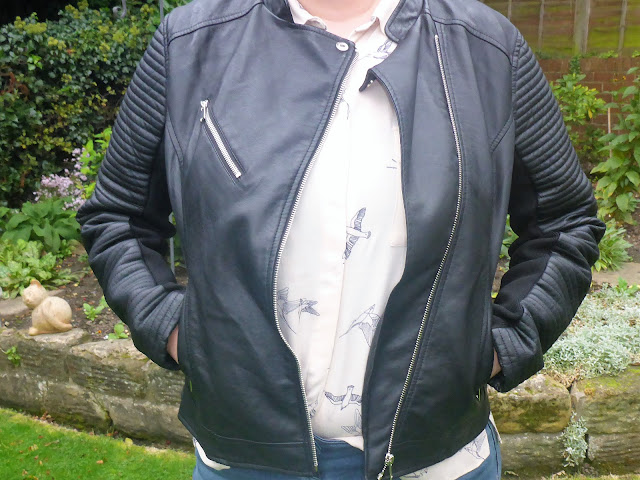 Primark faux leather biker jacket