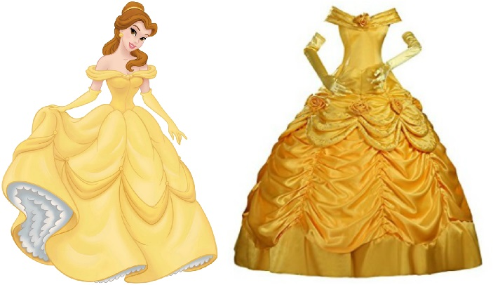 982b855cb91 Disney Inspired prom dresses to wear beauty and the beast belle yellow ball  gown