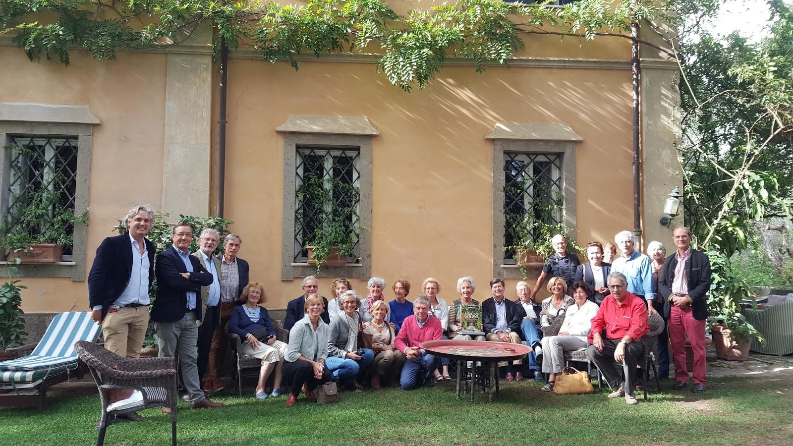 Hortibus voyage vmf 33 villas et jardins de toscane for Jardin de toscane