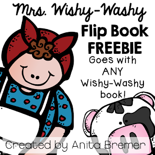 FREE Mrs. Wishy-Washy flip book that works with ANY Mrs. Wishy-Washy book!