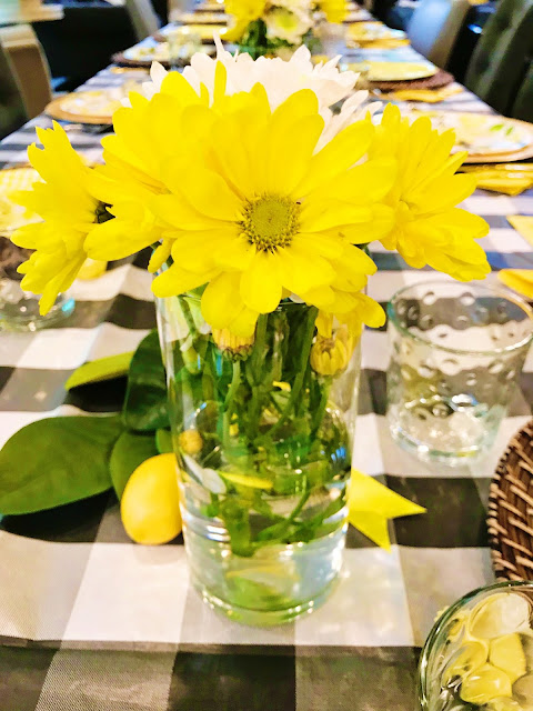 Lemon Themed Mother's Day Party @michellepaigeblogs.com