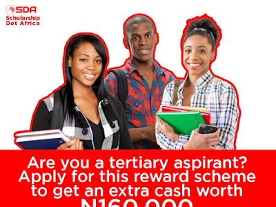 Scholarship Dot Africa now rewarding African Students with N160k