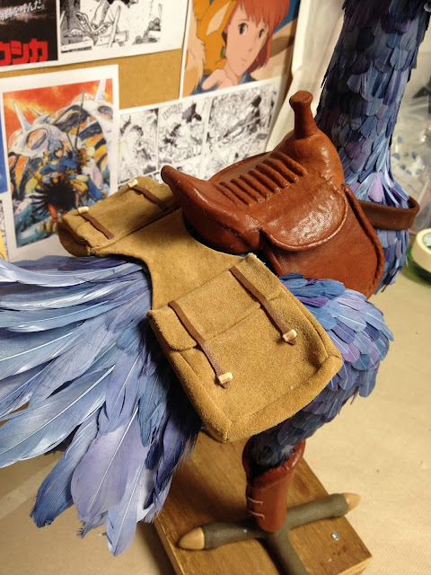 The Nausicaa Project: Accessorizing Kai - Saddlebags