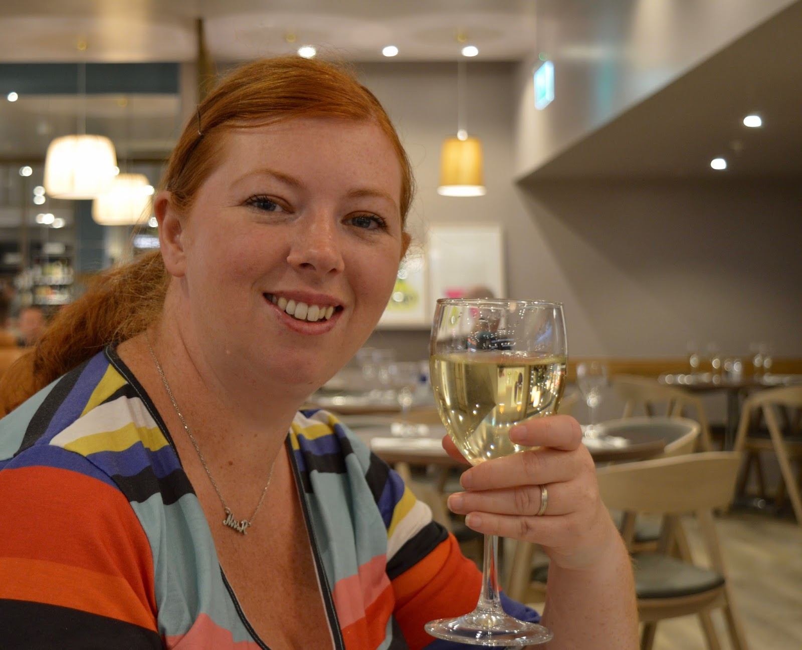 Carluccio's - intu Metrocentre | Children's Menu Review - house wine