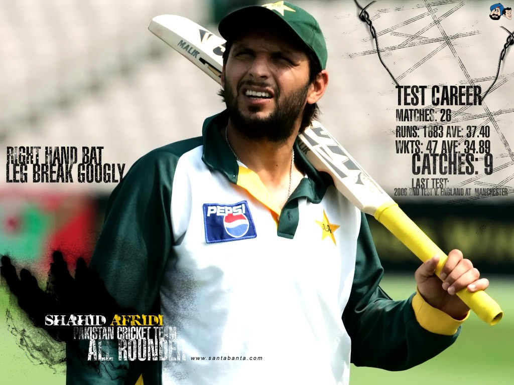 Global Pictures Gallery: Shahid Afridi HD Wallpapers