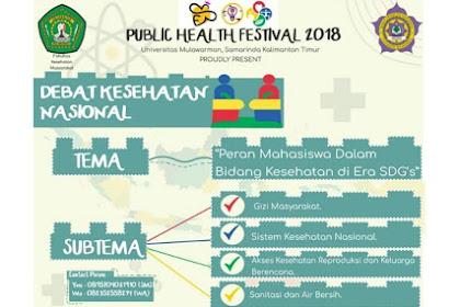 Contest Debat Kesehatan Nasional PHF 2018
