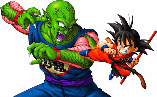 Los 10 grandes enemigos de goku destino al infinito for Dragon ball z mural