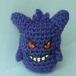 http://www.ravelry.com/patterns/library/gengar-ball---pokemon