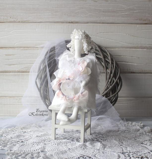 @Evgeniia Kolesnikova #shabby chic #тильда #ангел