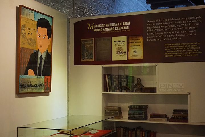 Jose Rizal's reading collection