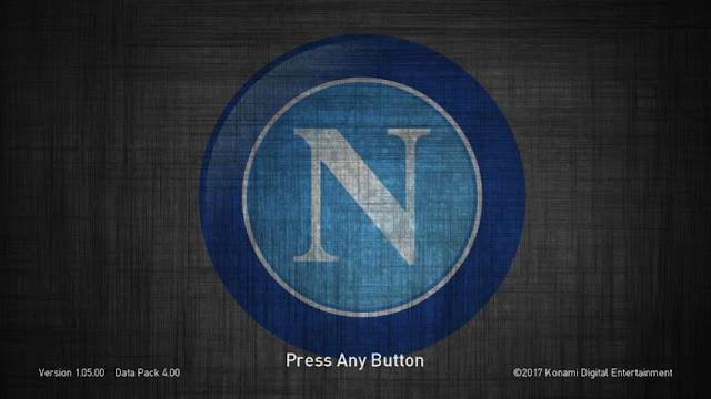 Napoli Start Screen PES 2018