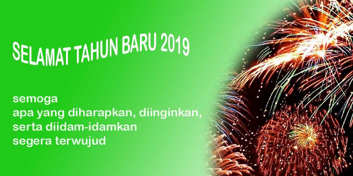 Ucapan Selamat Tahun Baru 2019