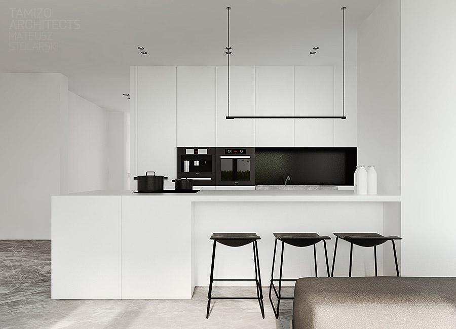 Desain Dapur Merah Hitam  kitchen set nuansa hitam putih archives viku furniture bandung