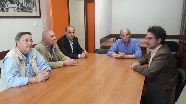 Η Πρωτοβουλία Πολιτών για την Επαναλειτουργία του Τραίνου στην Αργολίδα συναντήθηκε με το Δ.Σ του Εργατικού Κέντρου Άργους