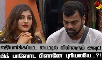 Double Eviction this Week : Yaashika & Balaji | Bigg Boss Tamil