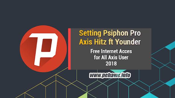 Cara Setting Psiphon Pro Telkomsel Terbaru 2018